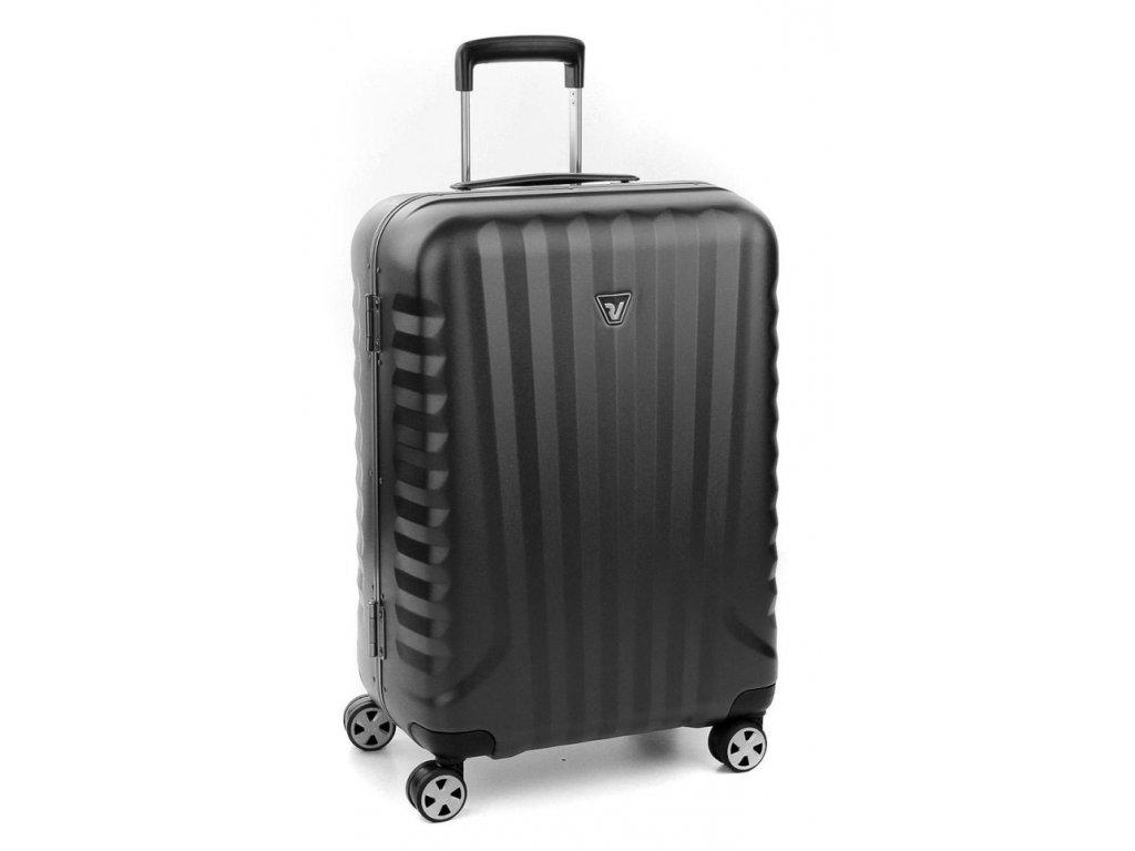 169699 6 cestovni kufr roncato uno dlx m black