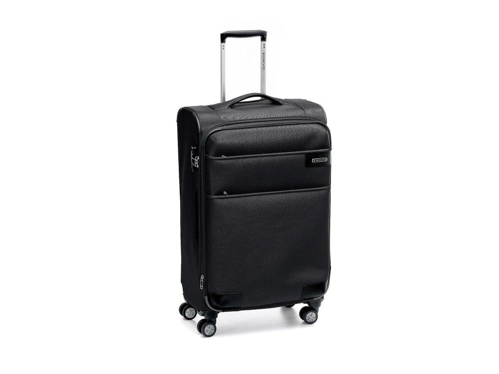 168811 6 cestovni kufr roncato uno soft deluxe m black
