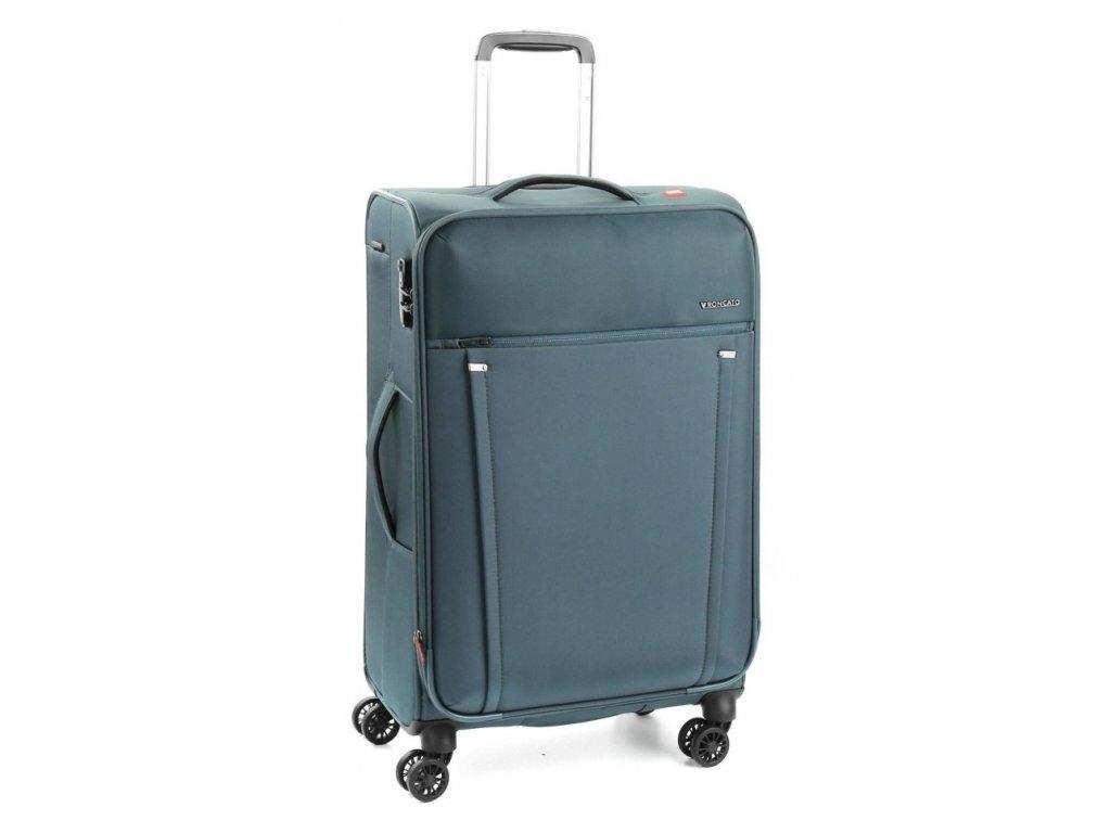 169639 4 cestovni kufr roncato zero gravity 4w m blue