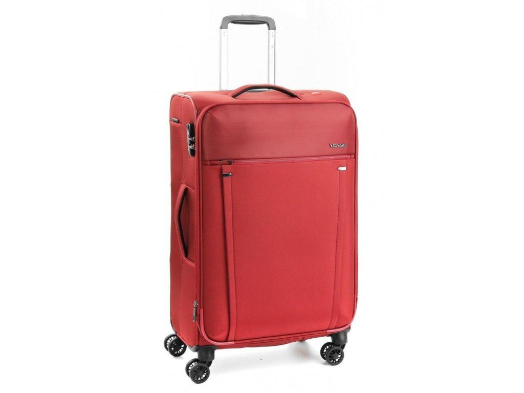 169642 6 cestovni kufr roncato zero gravity 4w m red