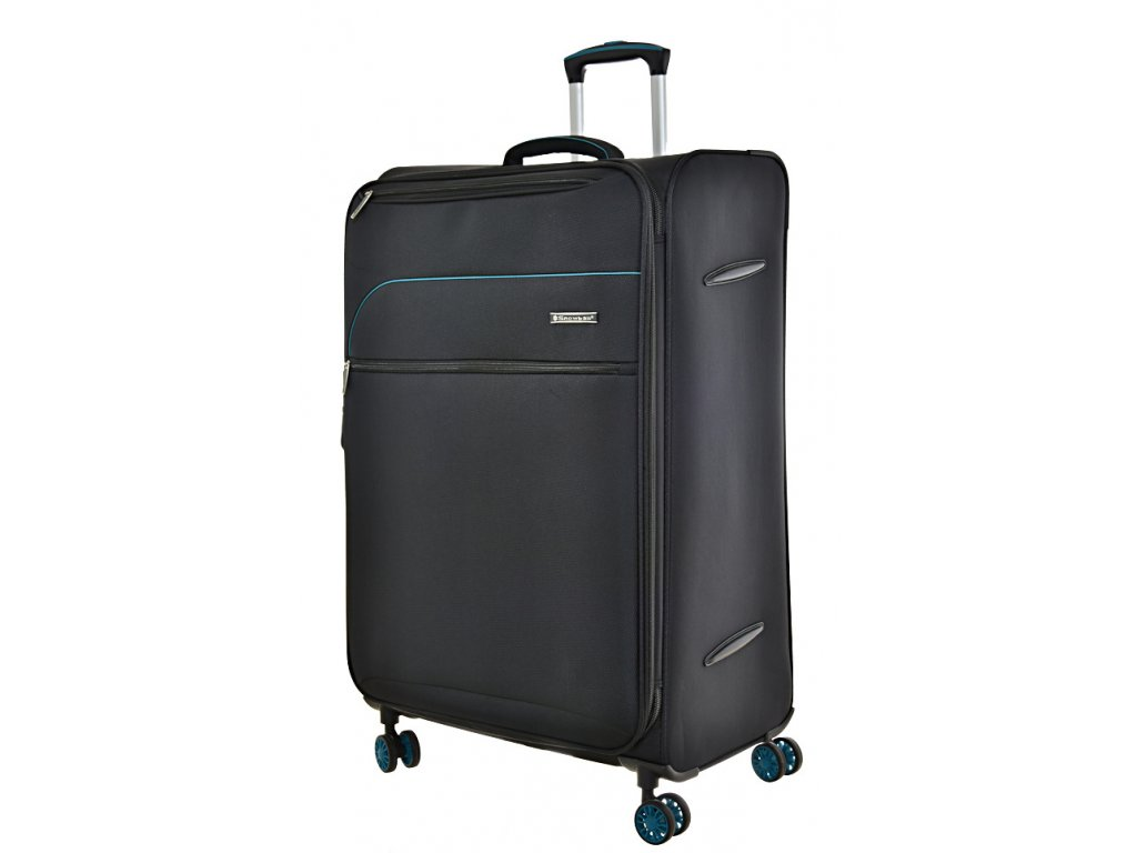 168679 8 cestovni kufr snowball 4w l black