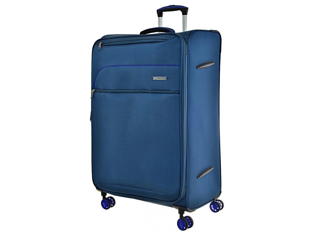 168685 8 cestovni kufr snowball 4w l blue