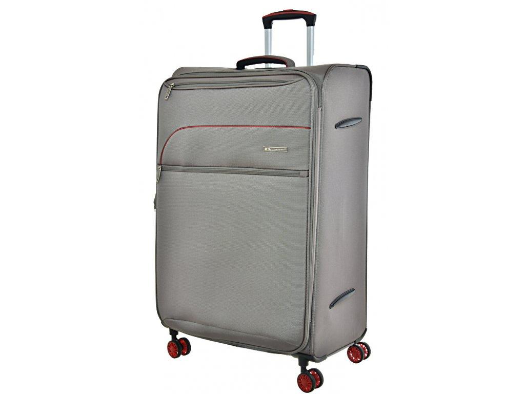 168688 8 cestovni kufr snowball 4w l grey