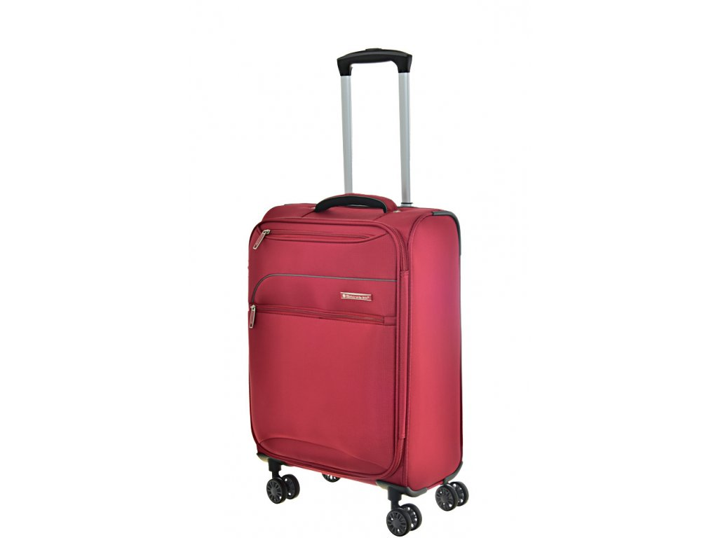 168664 8 cestovni kufr snowball 4w s red