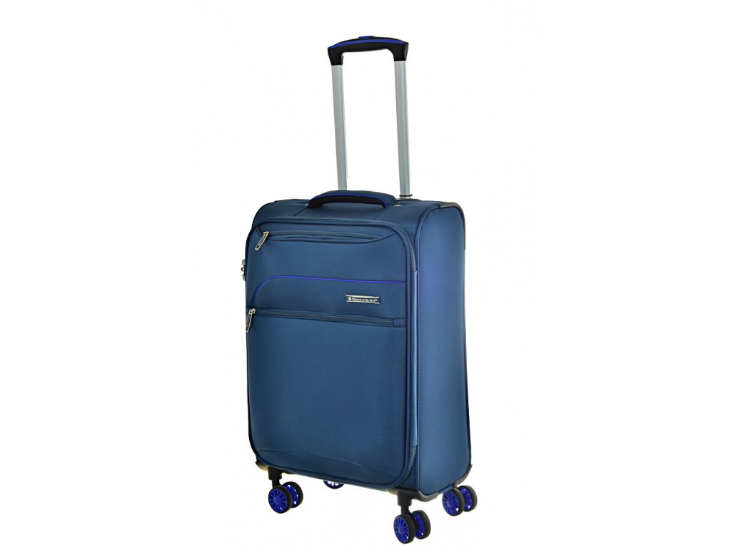 168667 8 cestovni kufr snowball 4w s blue
