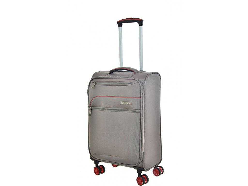 168670 8 cestovni kufr snowball 4w s grey