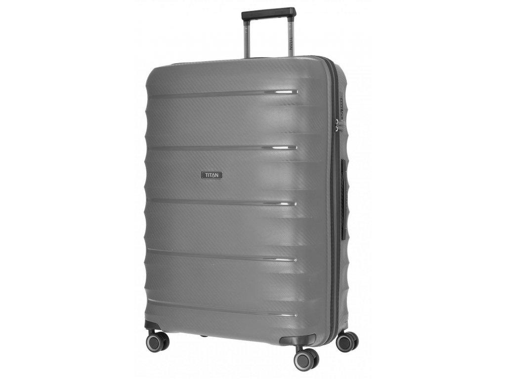 169513 4 cestovni kufr titan highlight 4w l anthracite