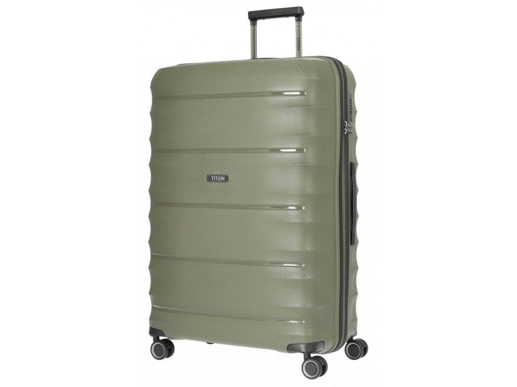 169516 4 cestovni kufr titan highlight 4w l khaki