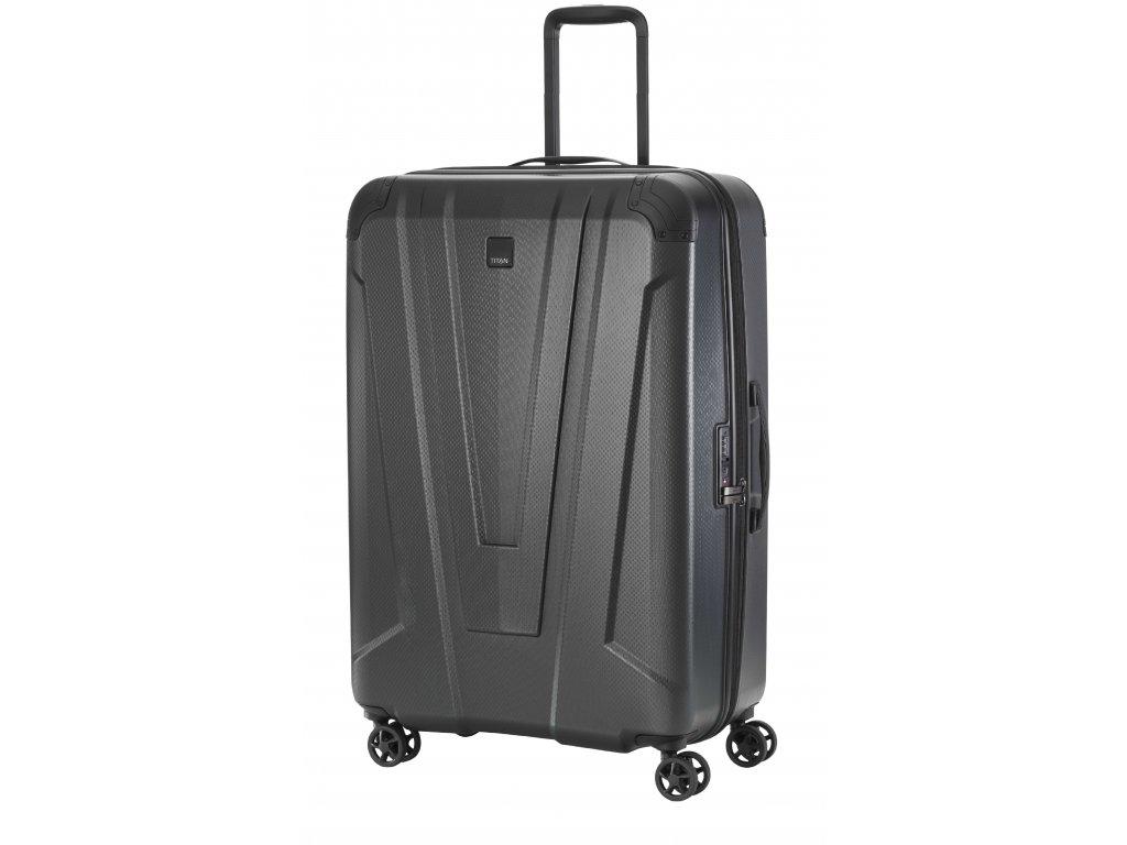 169564 5 cestovni kufr titan protect 4w m anthracite