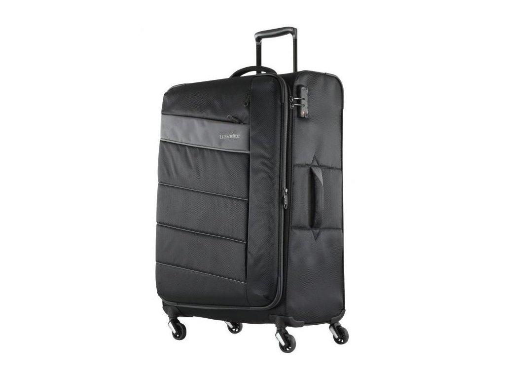 166735 5 cestovni kufr travelite kite 4w l black