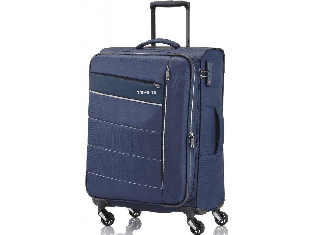 167548 4 cestovni kufr travelite kite 4w m navy