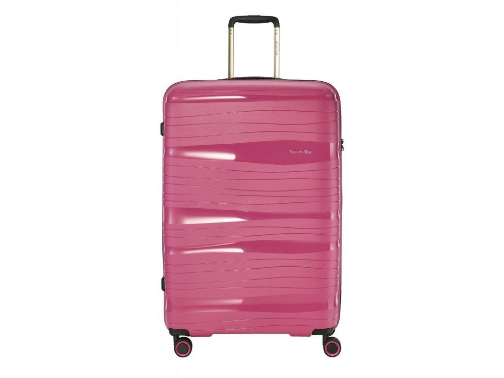 169903 7 cestovni kufr travelite motion 4w l rose