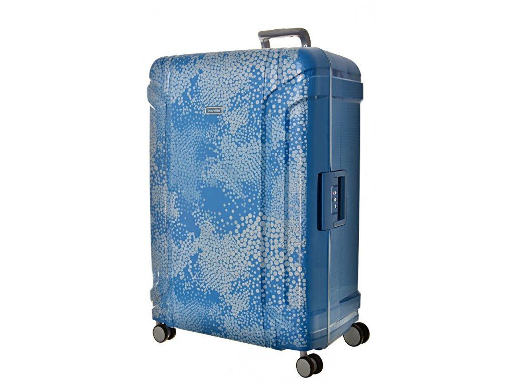 168655 8 cestovni kufr travelite sonic 4w l blue