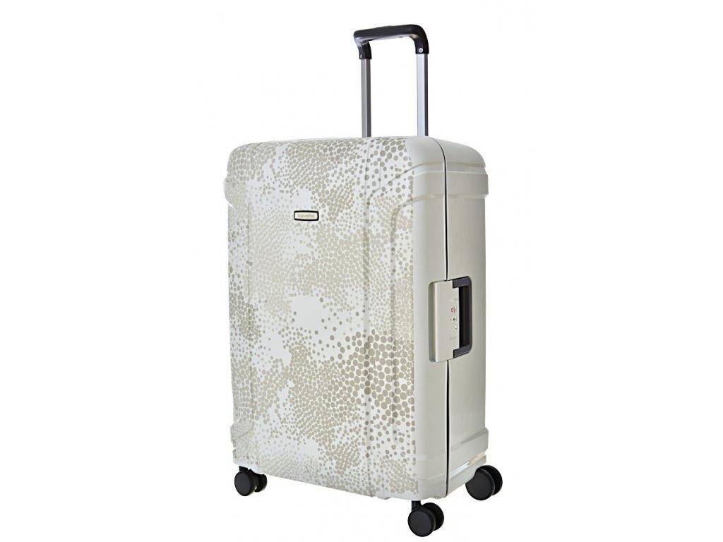 168652 8 cestovni kufr travelite sonic 4w m silver