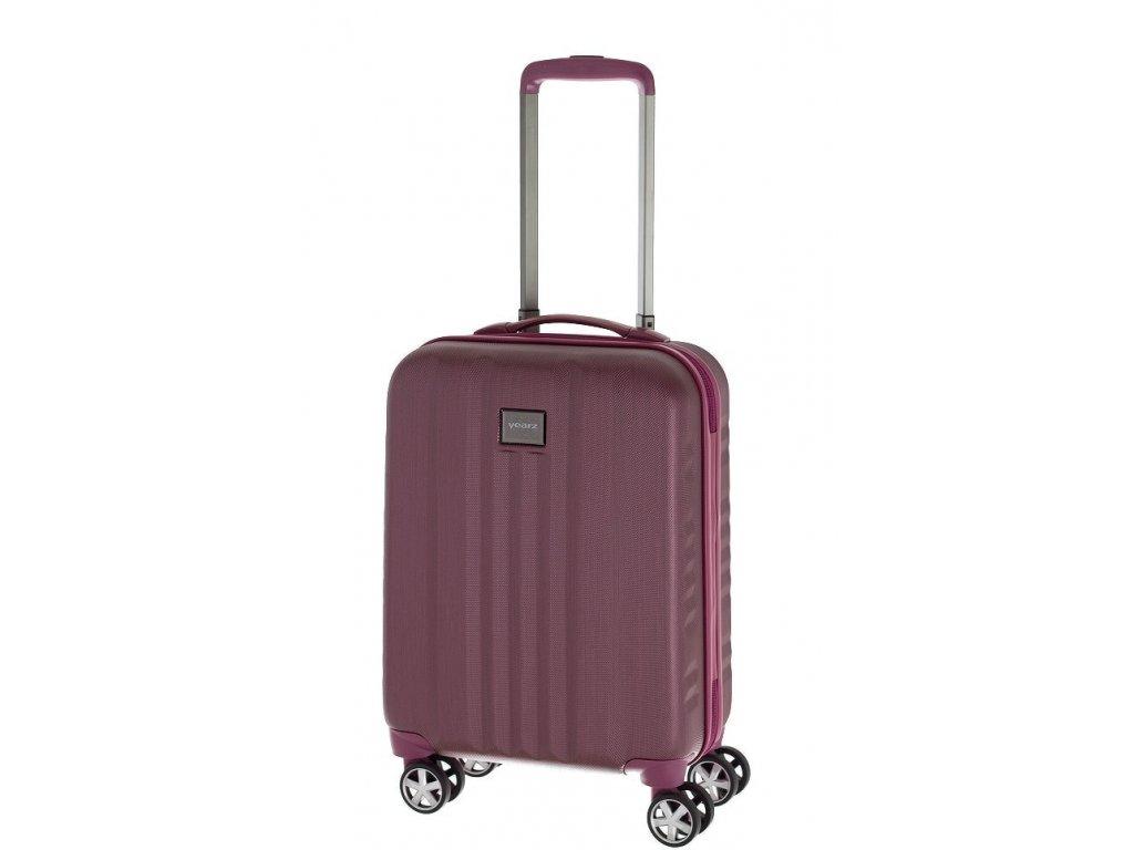 166747 7 cestovni kufr yearz fly s burgundi brushed