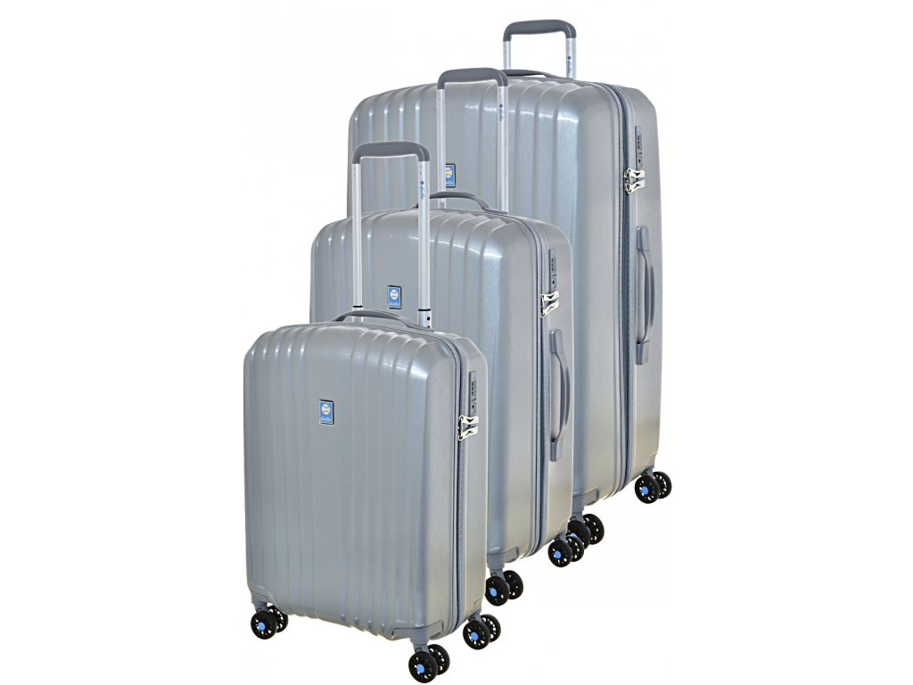 170719 1 cestovni kufry set 3ks dielle s m l grey