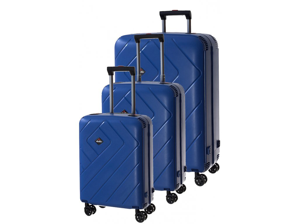 170773 1 cestovni kufry set 3ks dielle s m l dark blue