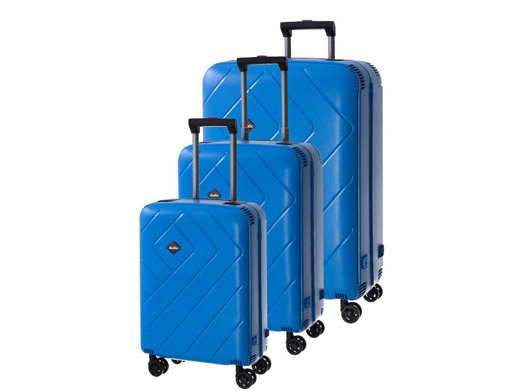 170776 1 cestovni kufry set 3ks dielle s m l tyrkysova