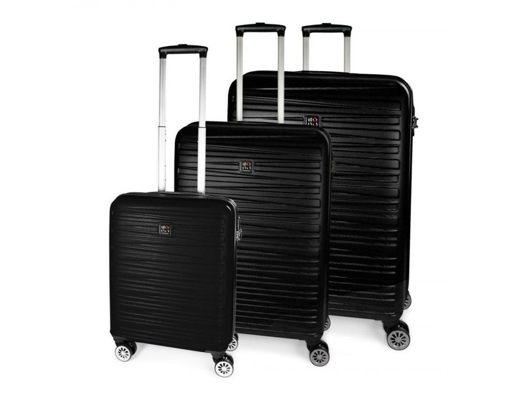 170824 1 cestovni kufry set 3ks modo houston s m l black