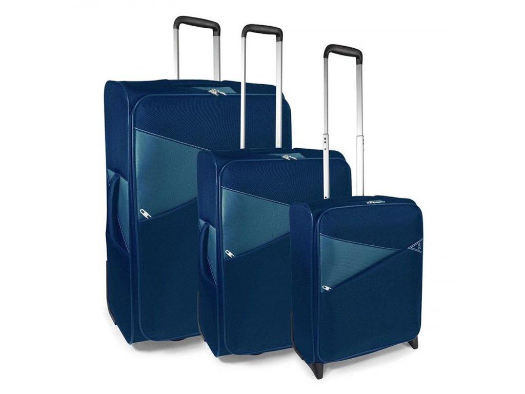 170803 1 cestovni kufry set 3ks modo thunder s m l 2w dark blue