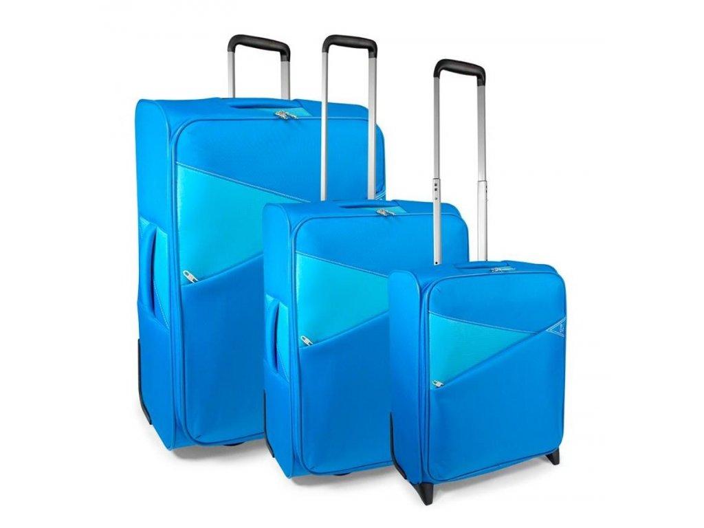 170806 1 cestovni kufry set 3ks modo thunder s m l 2w tyrkysova