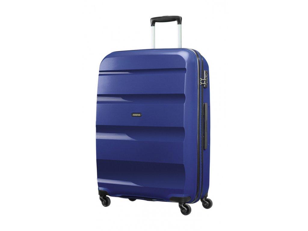 174991 9 cestovni kufr american tourister bon air 4w l modra