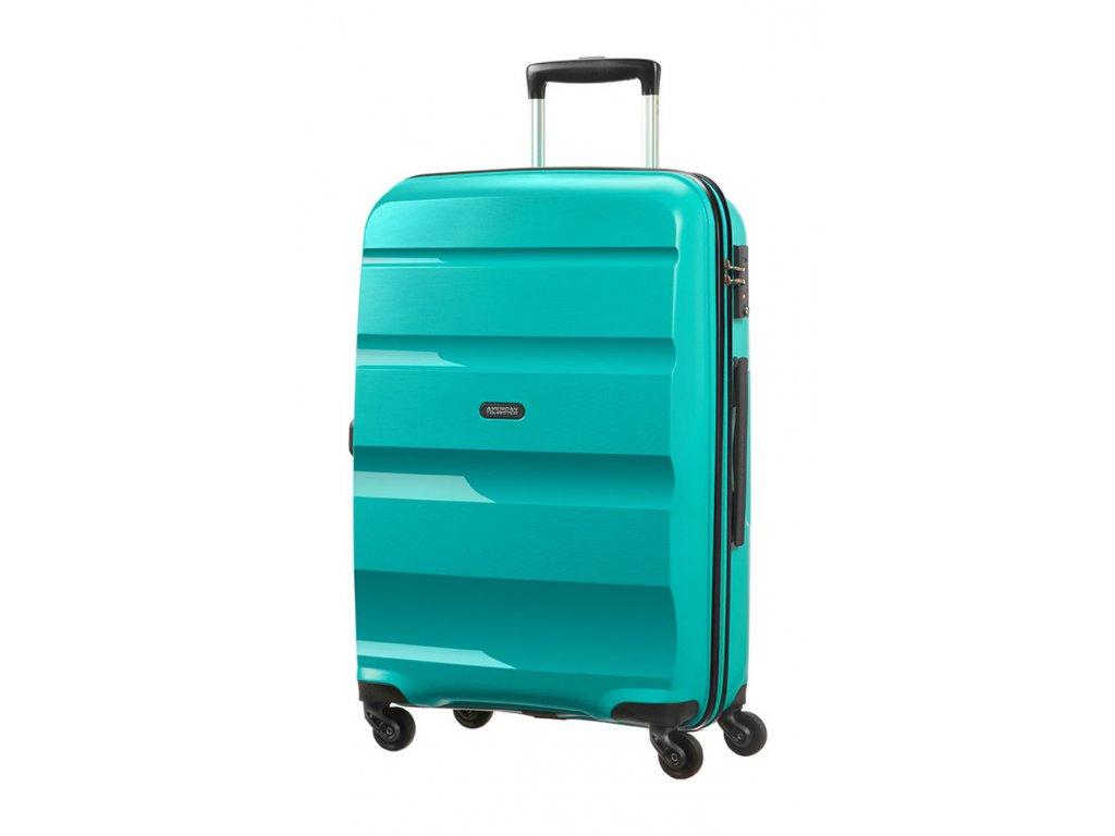 174988 8 cestovni kufr american tourister bon air 4w m petrolejova