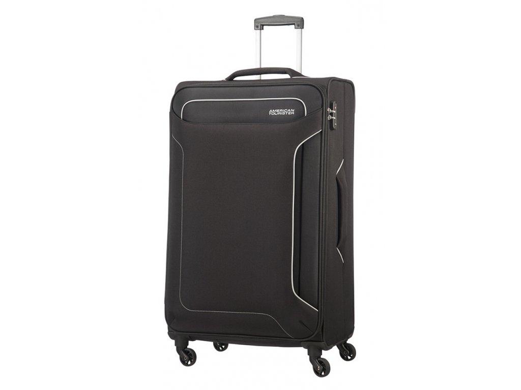 174925 8 cestovni kufr american tourister holiday heat 4w l cerna