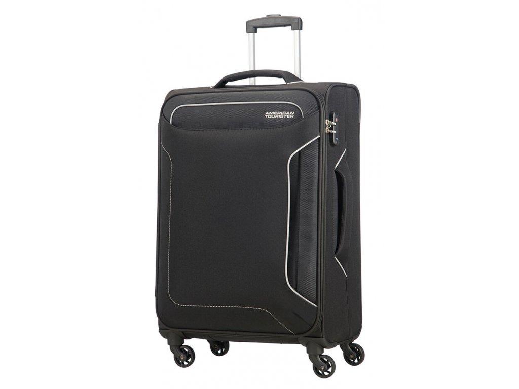174922 8 cestovni kufr american tourister holiday heat 4w m cerna
