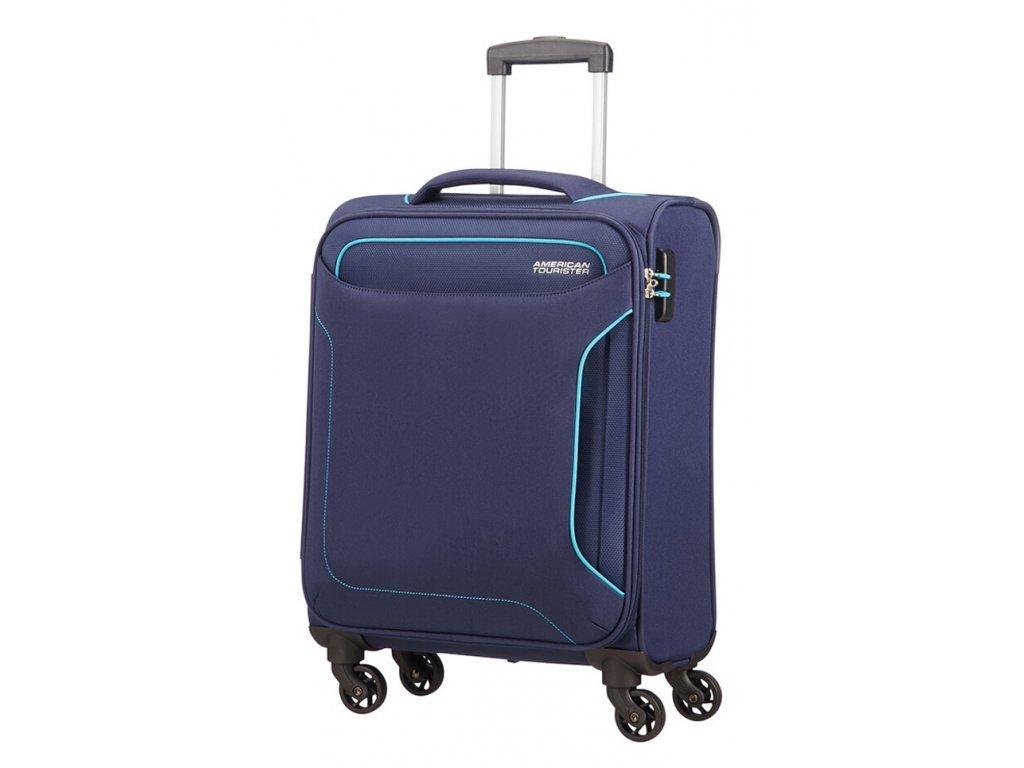 174979 6 cestovni kufr american tourister holiday heat 4w s modra