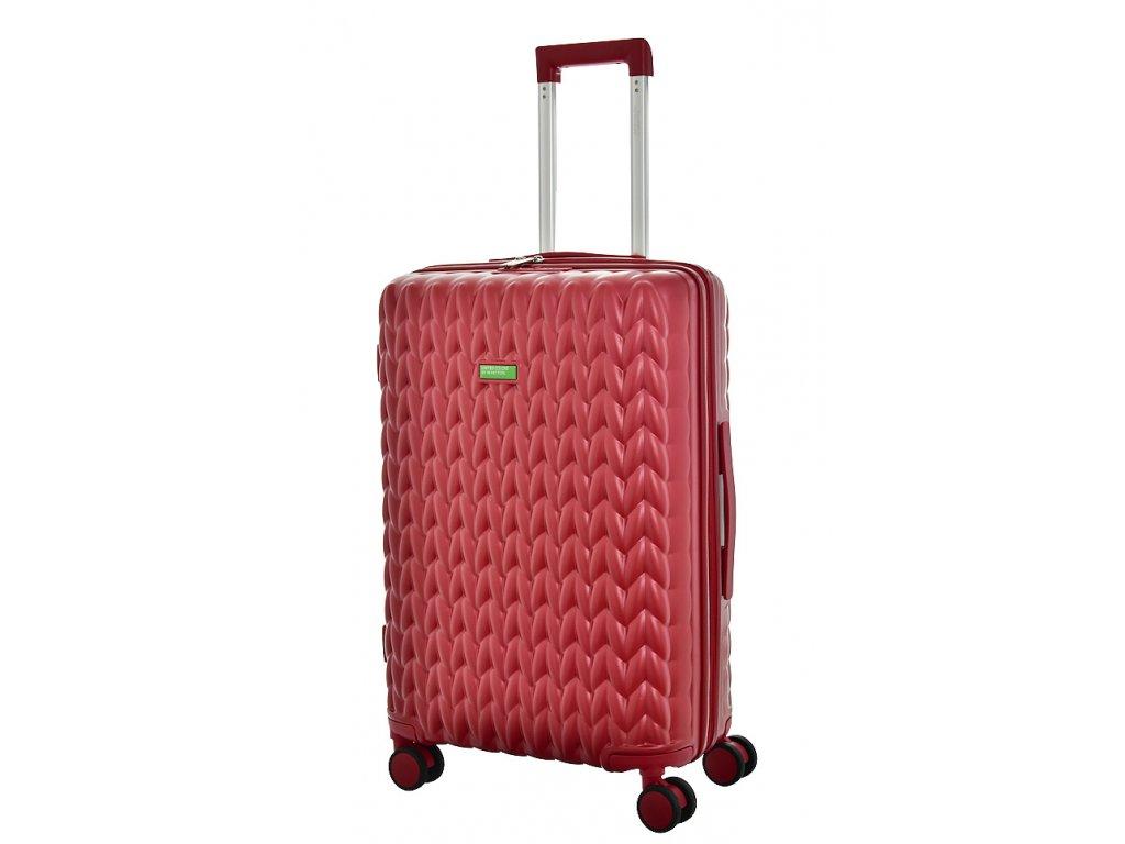 173479 7 cestovni kufr benetton knit 4w m vinova