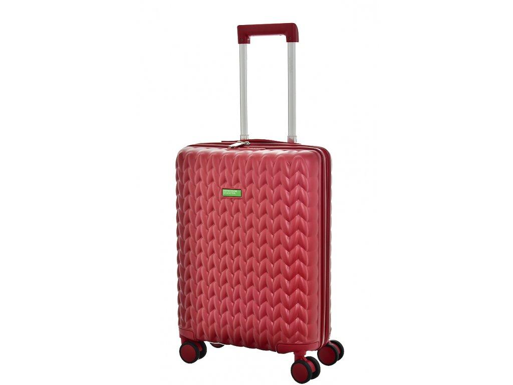 173467 7 cestovni kufr benetton knit 4w s vinova