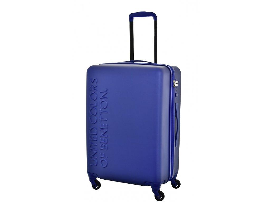 173506 6 cestovni kufr benetton ucb 4w m modra