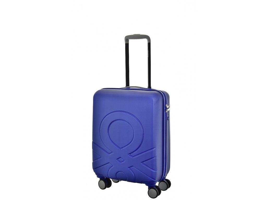 173530 6 cestovni kufr benetton ultra logo s modra