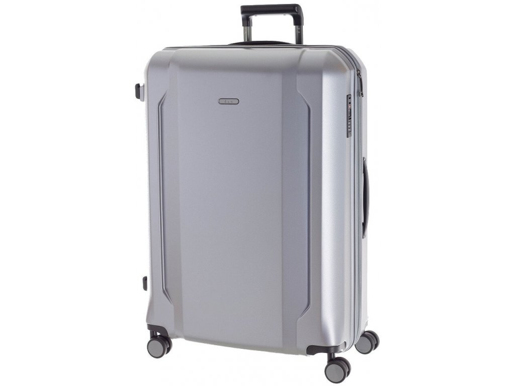 166744 6 cestovni kufr d n l stribrna
