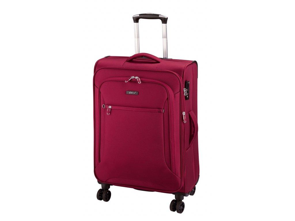 165124 6 cestovni kufr d n m cervena