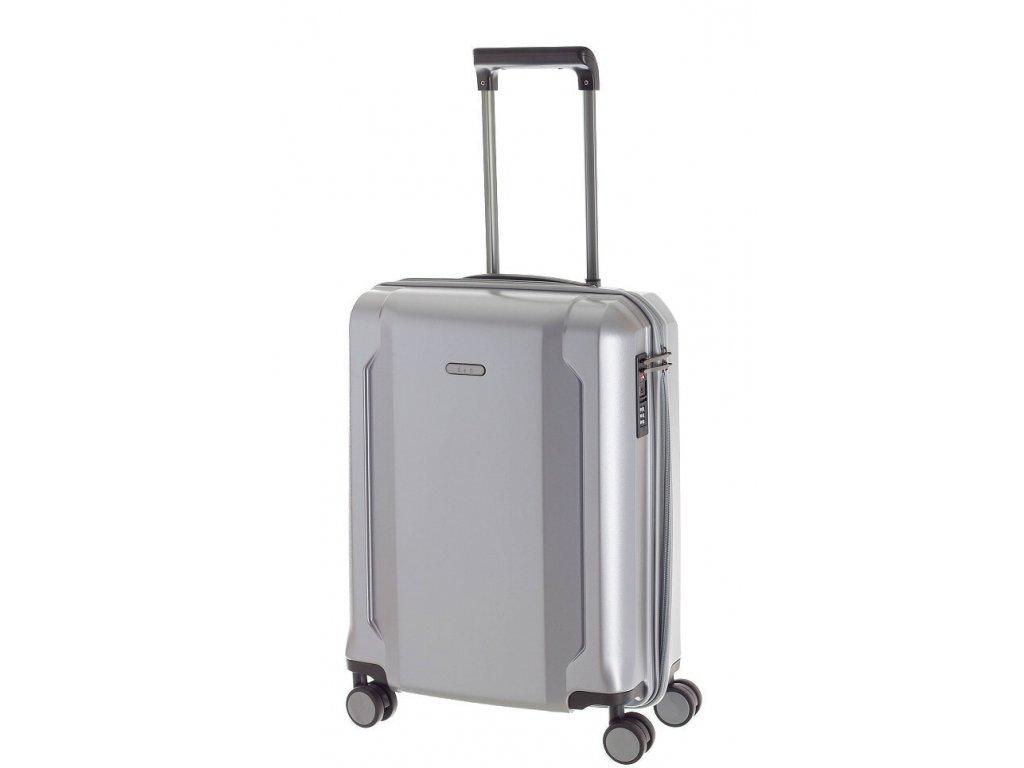 166684 6 cestovni kufr d n s stribrna