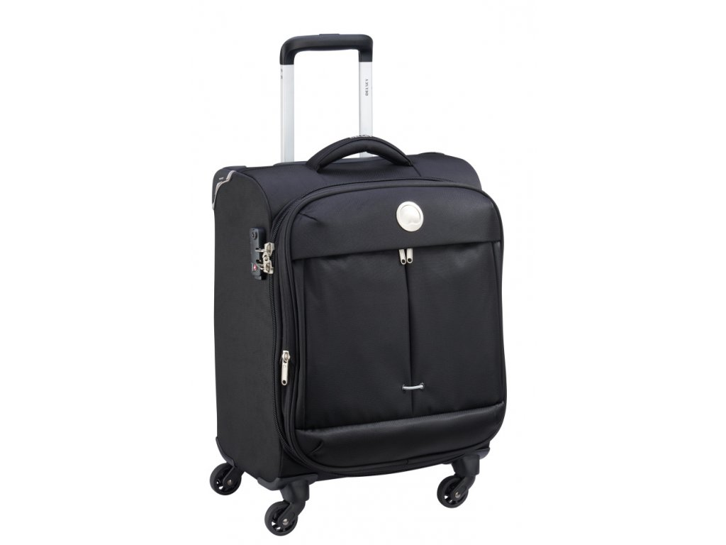 174145 7 cestovni kufr delsey flight lite 4w 54 cerna