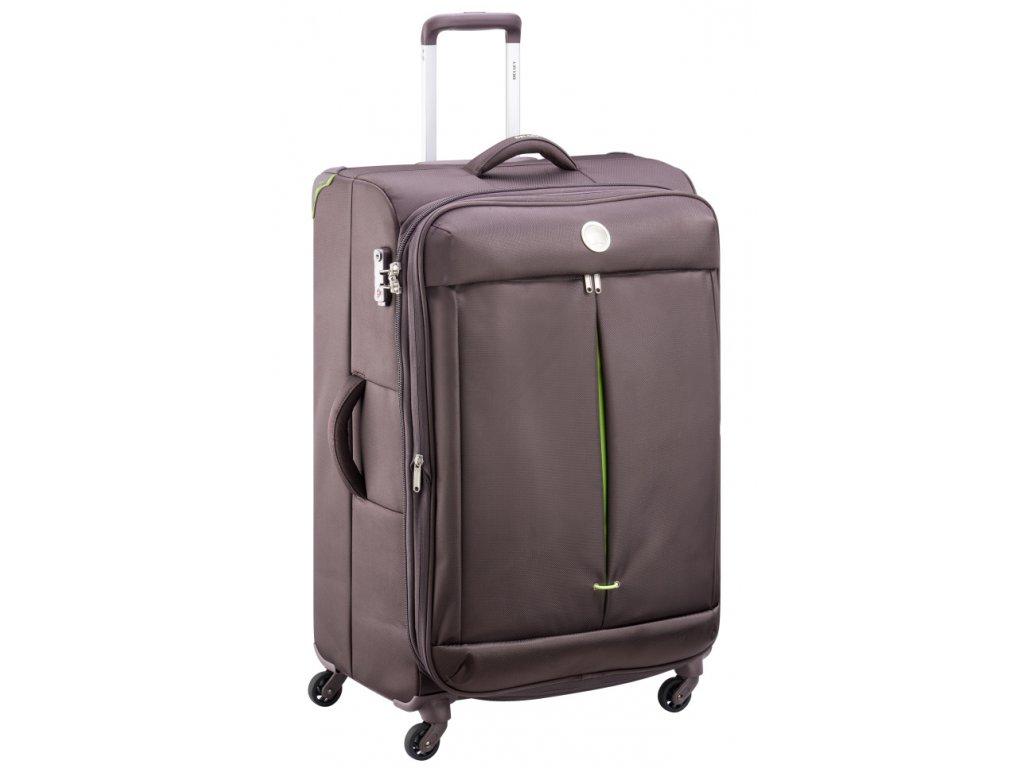 174175 7 cestovni kufr delsey flight lite 4w 77 hneda