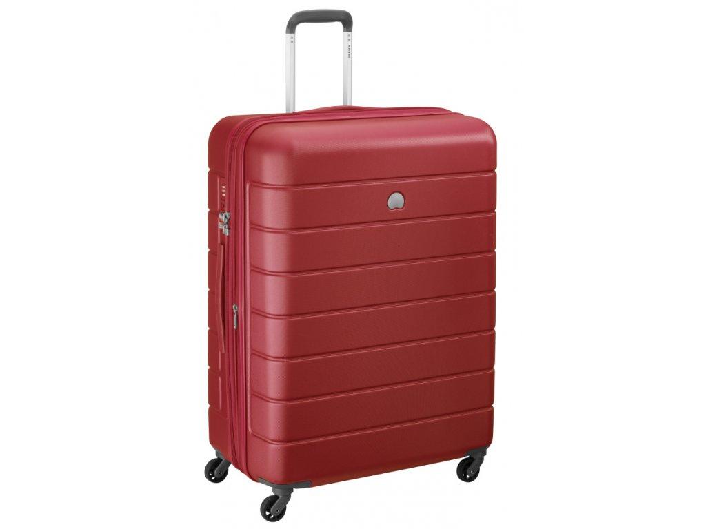 174166 7 cestovni kufr delsey lagos 4w 76 cervena