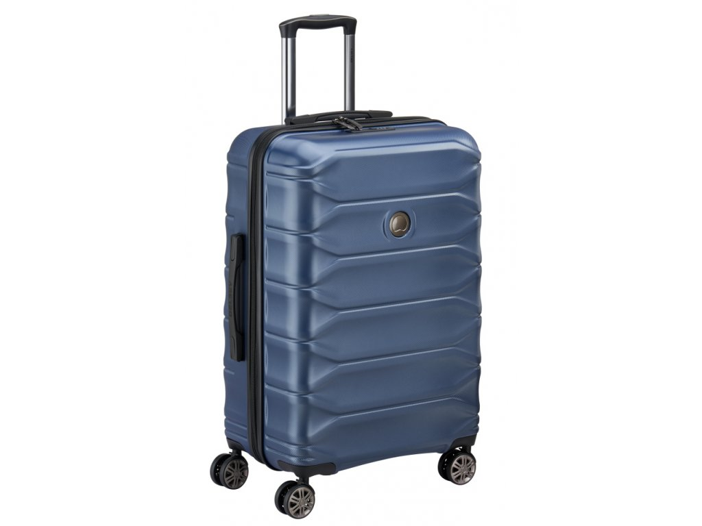 174181 5 cestovni kufr delsey meteor 4w 68 modra
