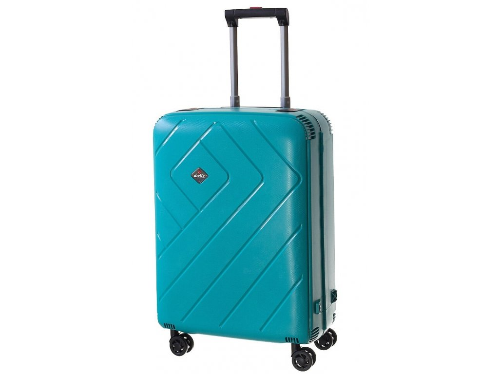 165319 6 cestovni kufr dielle m zelena