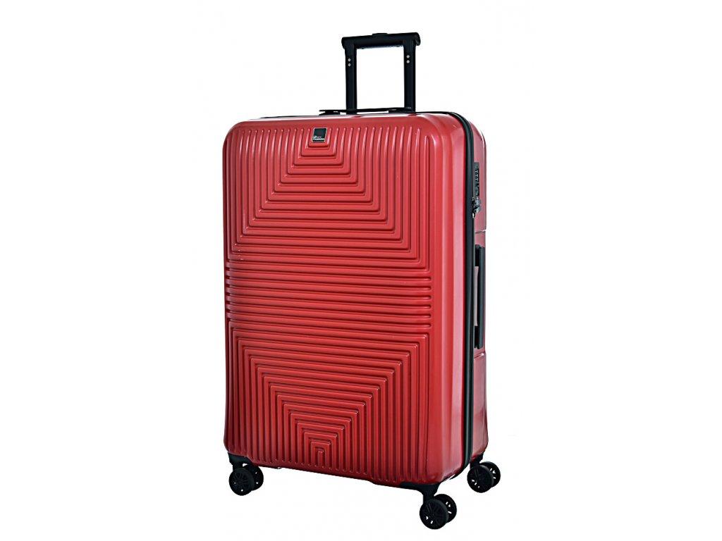 171418 7 cestovni kufr fabrizio avenue 4w l red