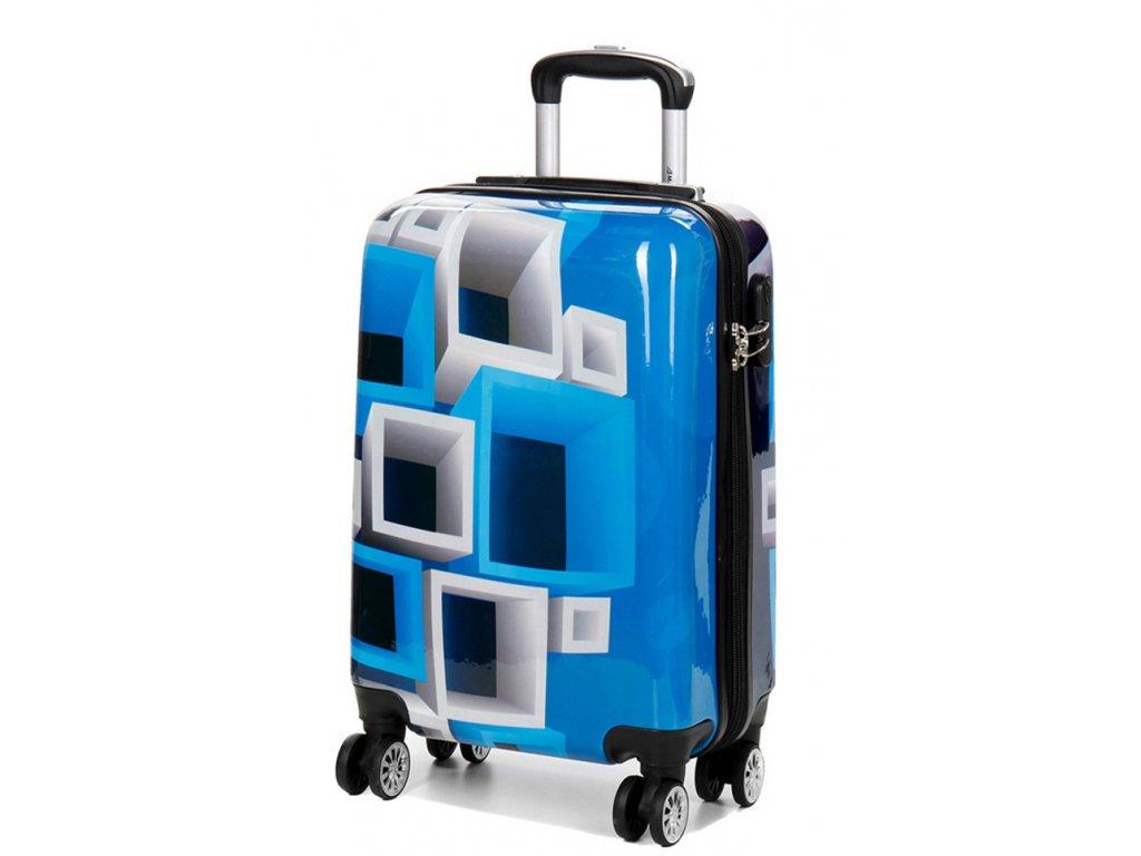 173107 7 cestovni kufr madisson 4w abs s multicolor