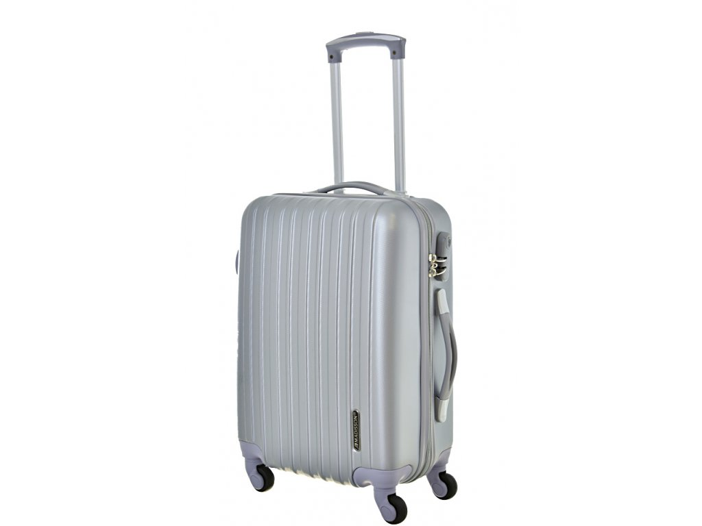 167842 4 cestovni kufr madisson 4w s silver