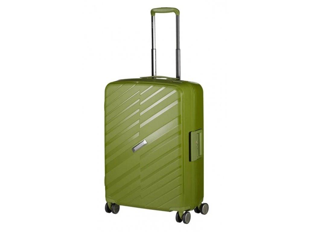 175828 6 cestovni kufr march bon voyage m zelena
