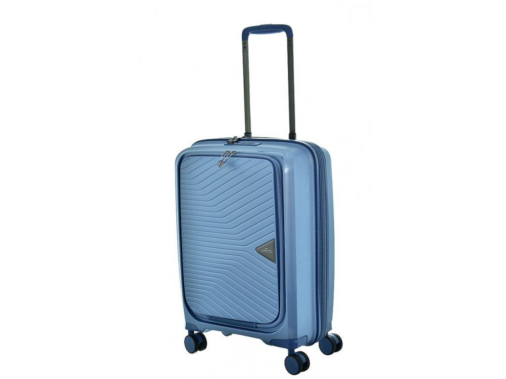 174646 8 cestovni kufr march gotthard se s modra seda