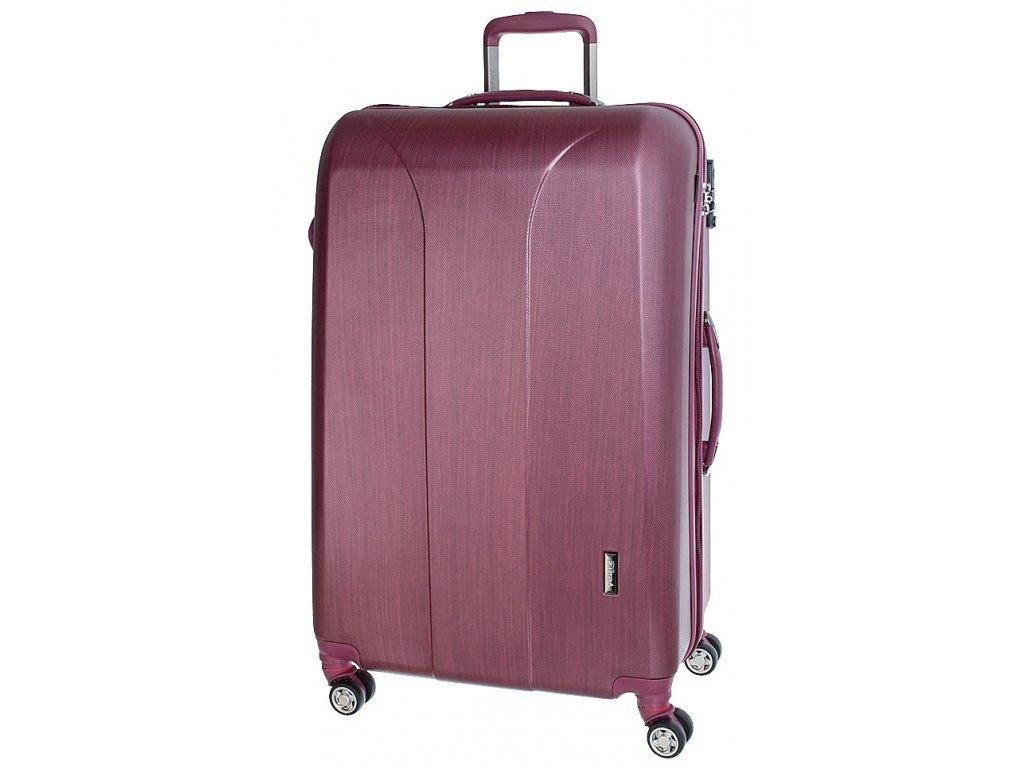 163753 6 cestovni kufr march new carat l burgundi brushed
