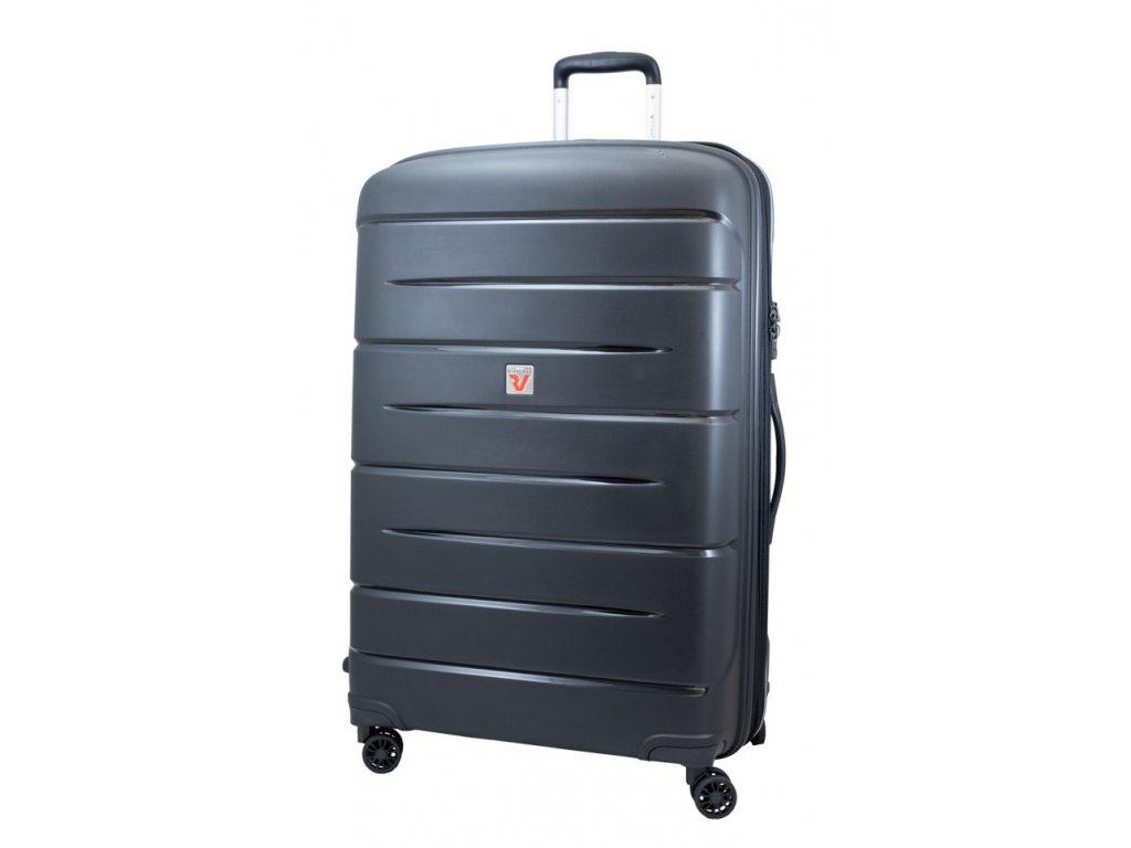 176023 13 cestovni kufr roncato flight dlx m cerna