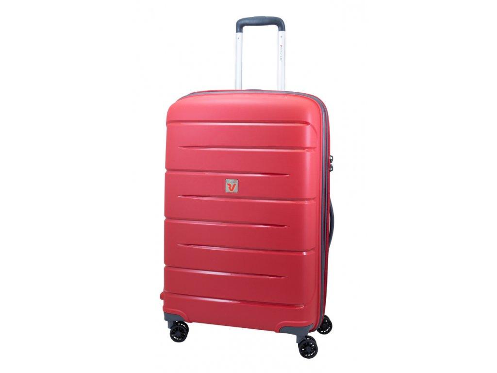 176029 13 cestovni kufr roncato flight dlx m cervena